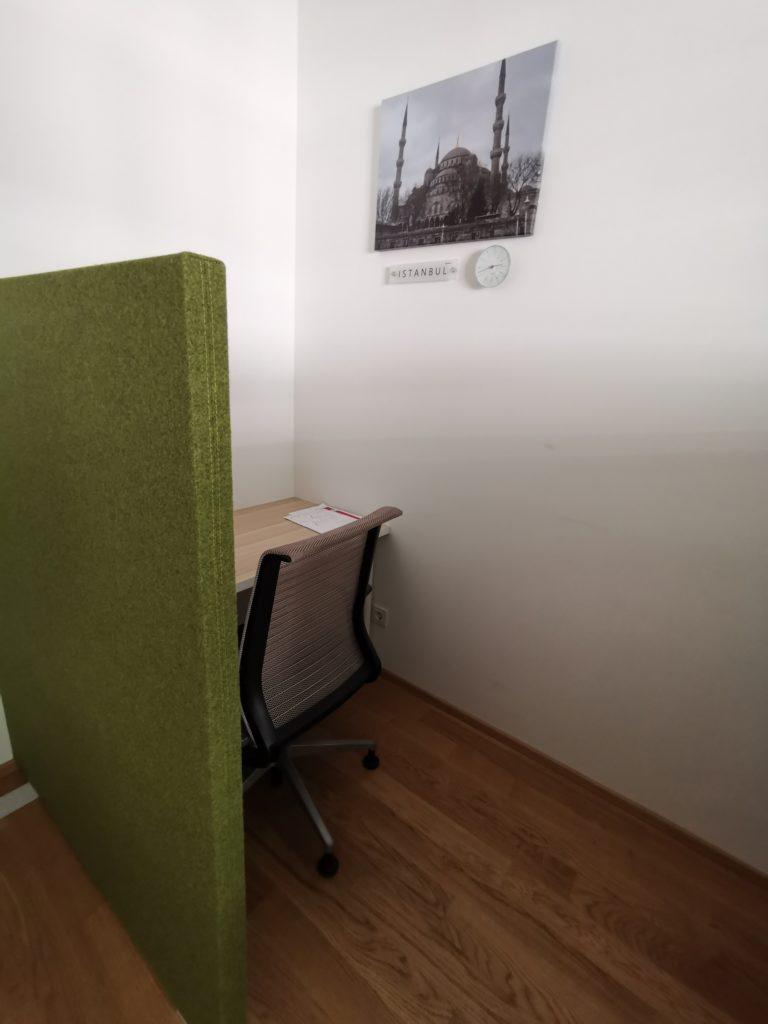 Istanbul Co-Working Desk in Vienna